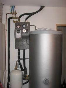 Chauffe eau solaire - maison passive