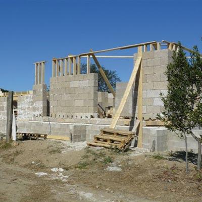construction bloc de chanvre