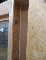 Détail mur ossature bois maison passive