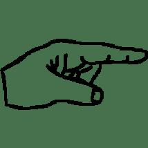 doigt-pointe-index-finger-hand