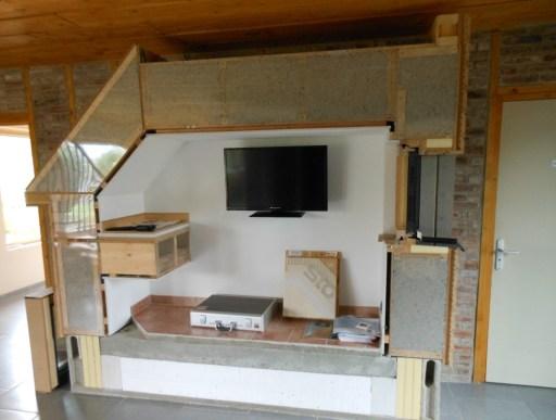 Une maison passive vue en coupe
