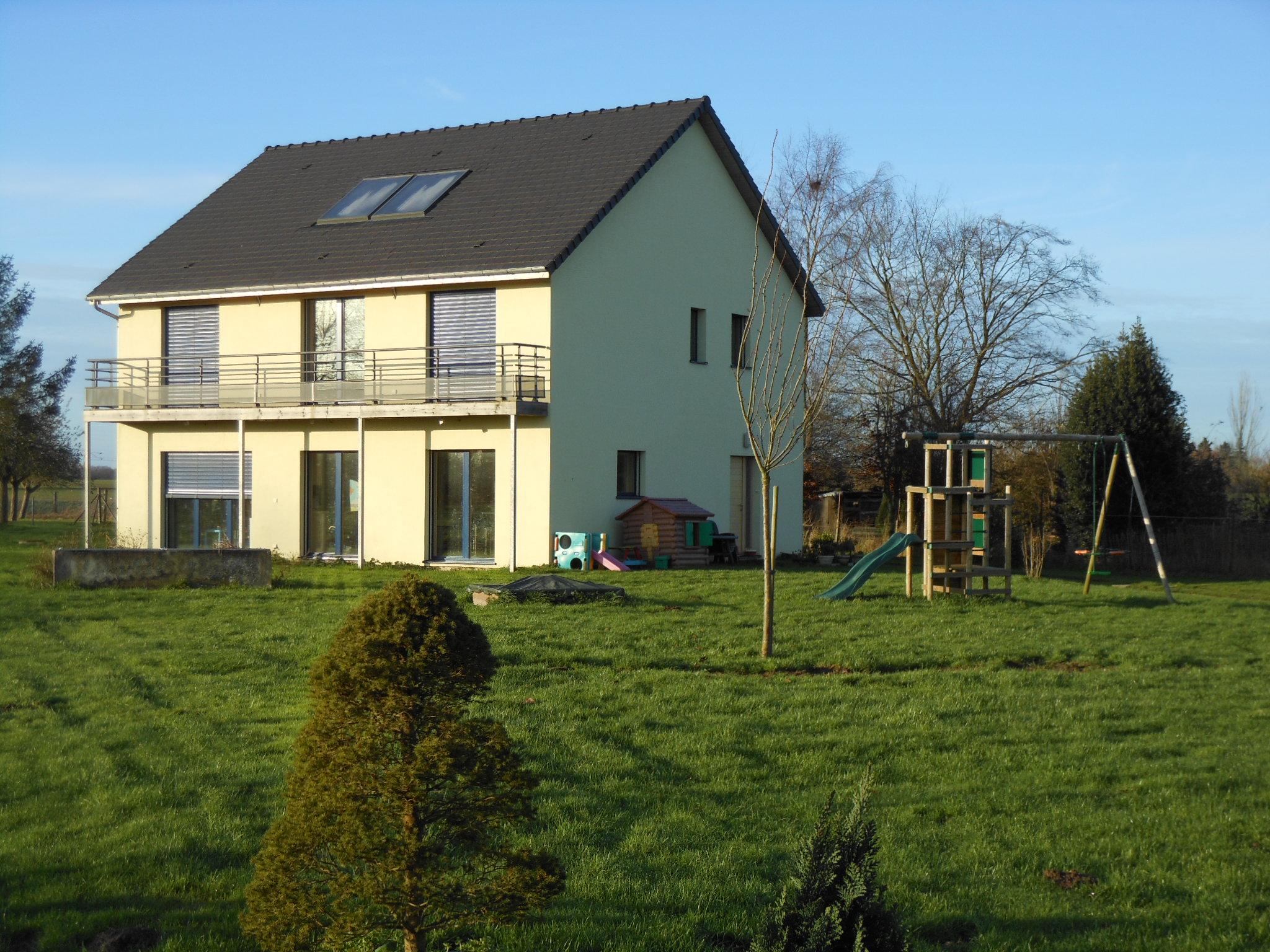 Maison passive en normandie 742 kwh sur novembre d cembre - Combien consomme une maison en kwh ...