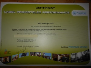 certification BBC maison passive en Normandie