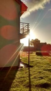 Rayonnement solaire maison passive