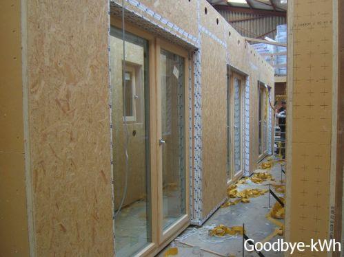 Préparation maison passive en atelier à Gaillefontaine