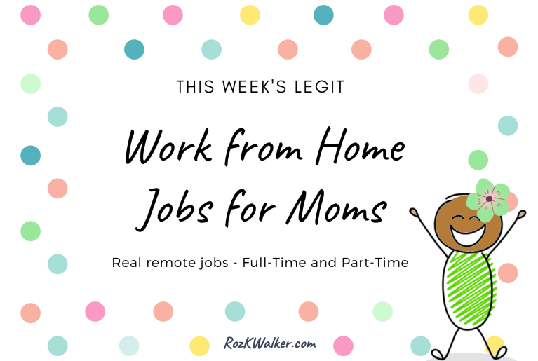 Reliable List of Real Work from Home Jobs Posted This Week