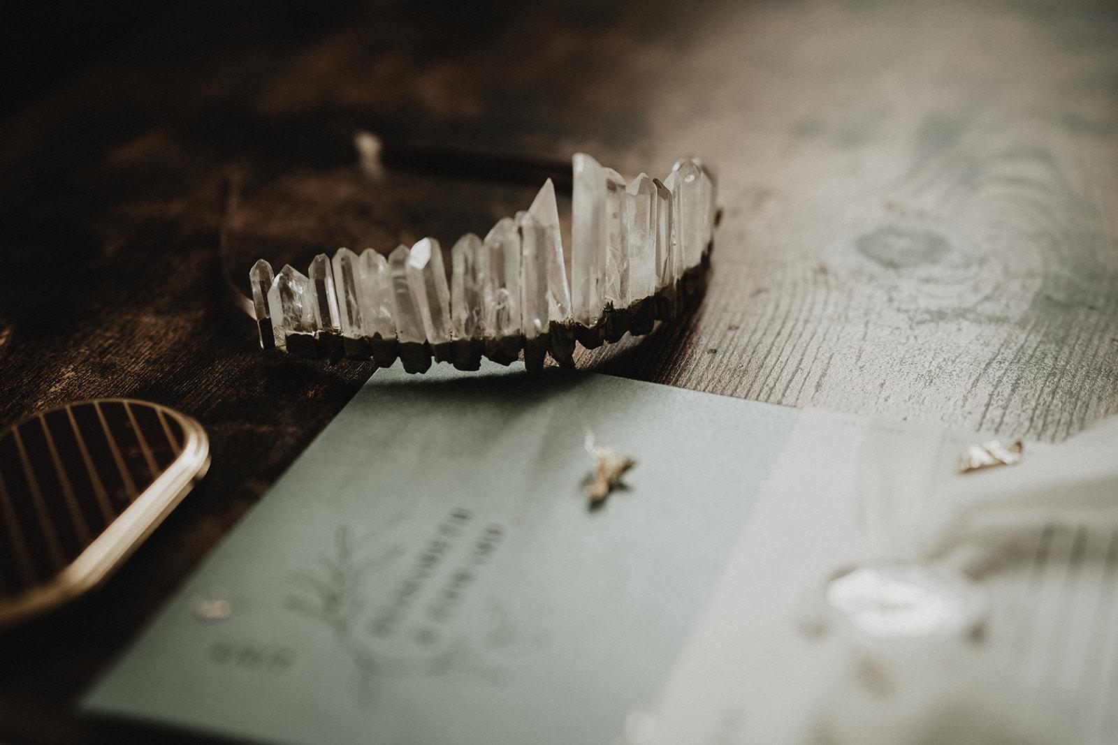 accessoires couronne mariée