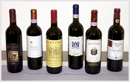 Chianti taste off vintage wine club best value chianti for Best tasting cheap wine