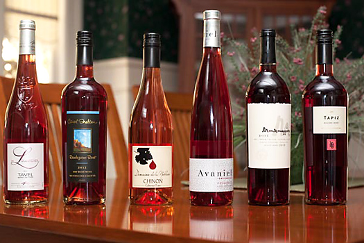 Rosé wines in the blind tasting