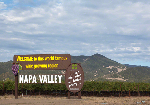 The Napa Valley in September