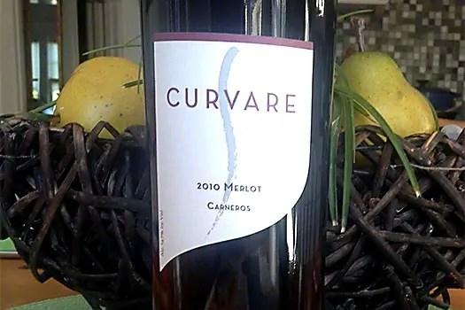 image of curvare merlot 2010
