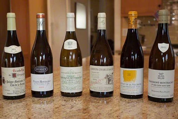 white burgundies