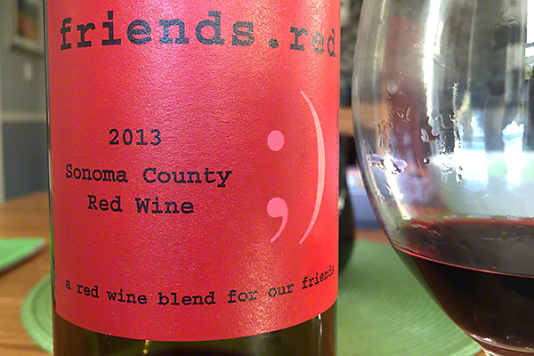 Pedroncelli Friends Red 2014