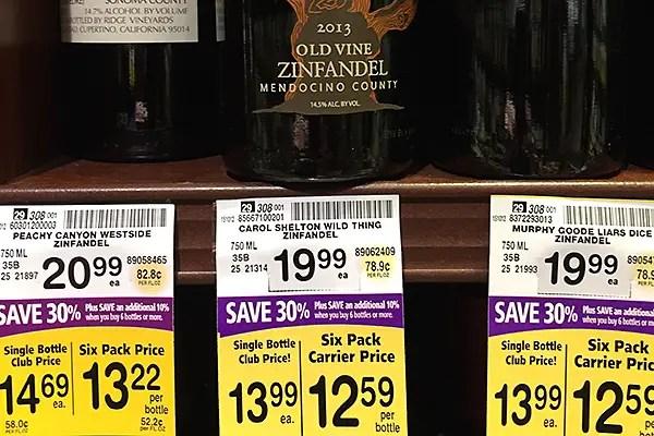 Latest Safeway 30% off sale - Bargain Alert! - Good Cheap Vino