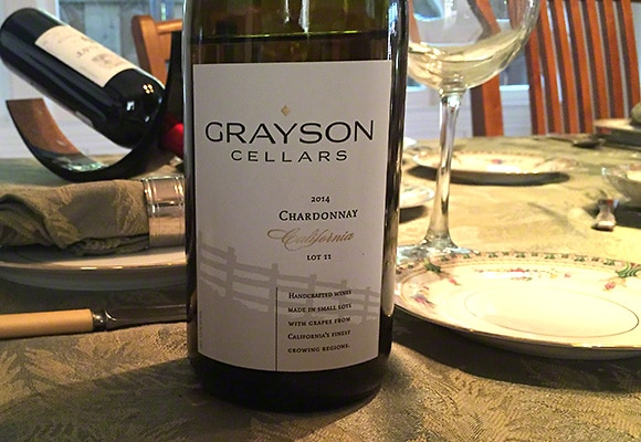 Grayson cellars chardonnay
