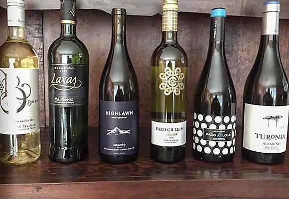 Blind tasting - Albariño wines