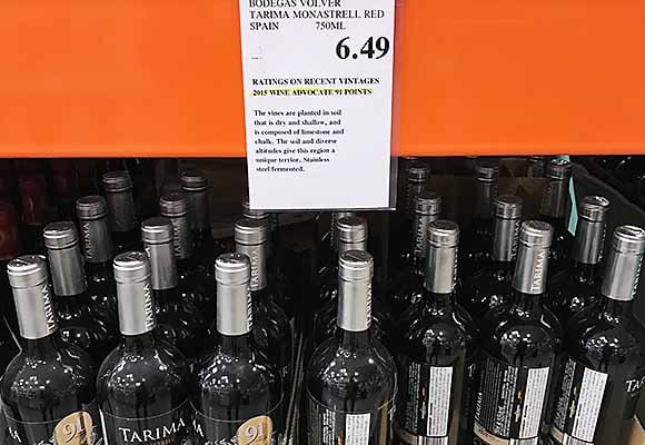 Two spanish reds at Costco