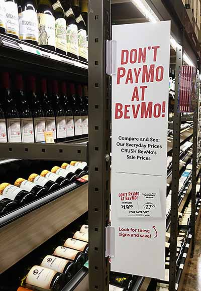 All out war on BevMo at Total Wines