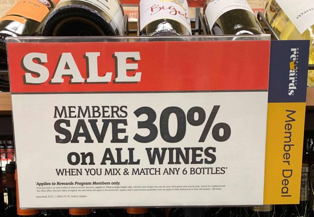 Cost Plus World Market Half Case Wine Sale