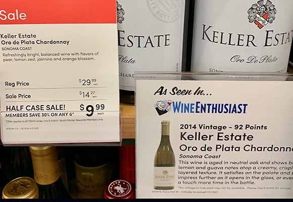 Cost Plus World Market wine sale