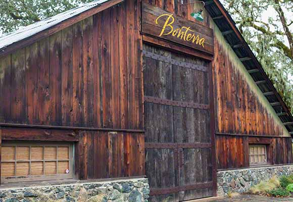 Bonterra winery and Cabernet