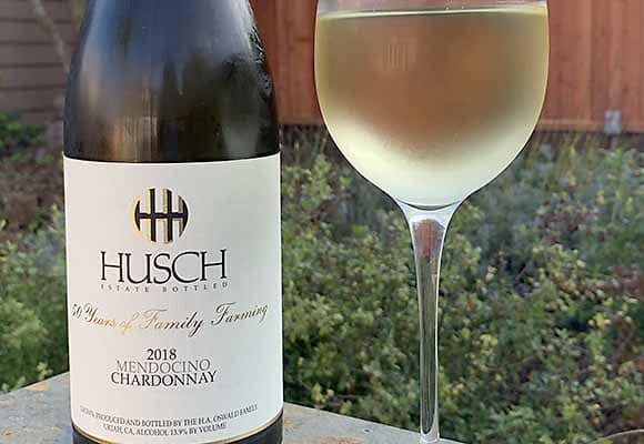 Husch Mendocino Chardonnay 2018