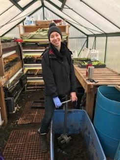 Corey Wills, 2017 Good Cheer Garden Apprentice