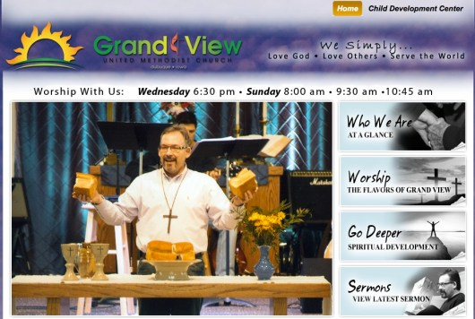 Grandview United Methodist Website