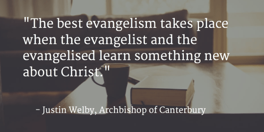 Mutual Evangelism Quote