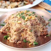 Bulgur Pilaf with Ground Beef