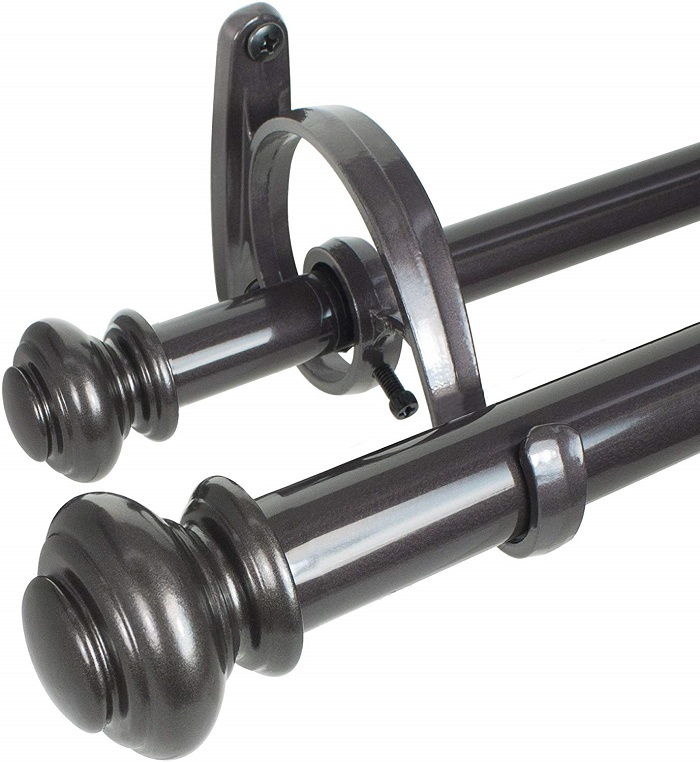 adjustable curtain rods are they