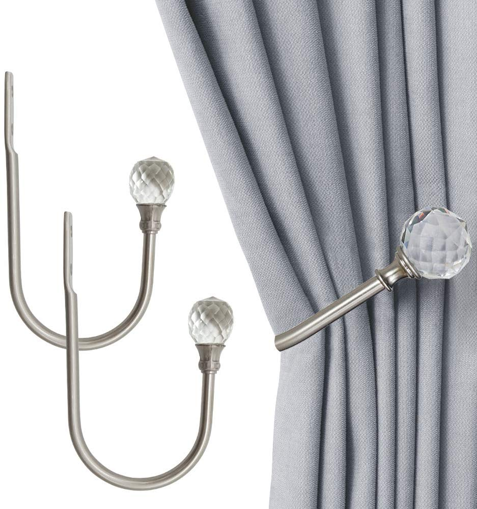 is it easy to find curtain holdbacks in
