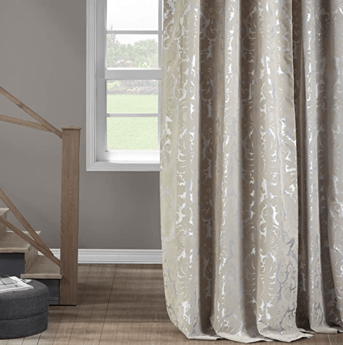 curtain color preference for beige