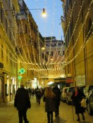 Looks like they used the 2012 lights from Via del Corso on this street a couple of blocks away.