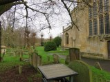 Burford cemetery. Doesn't this just look like a scene from a Dickens book?