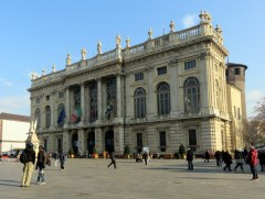 Palazzo Madama in Piazza Castello, an art museum. Yup, another Savoy palace, this one a center for governing.