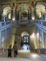 Kunsthistorisches Museum staircase. The building was constructed especially for the colloection.