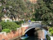 Canal bridge, near St. Elena.