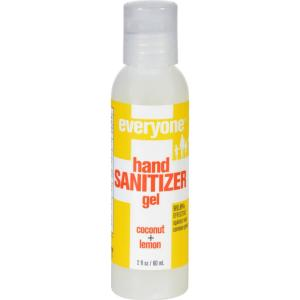 Coconut Lemon Hand Sanitizer Gel