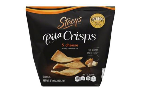 Stacy's Pita Chips - Five Cheese Pita Crisps ( 8 - 6.75 oz bags) %count(alt)