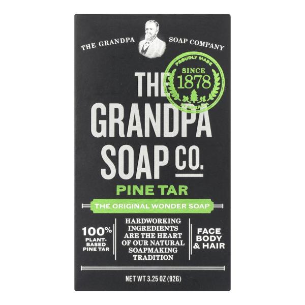 Grandpa's Pine Tar Bar Soap - 3.25 oz %count(alt)