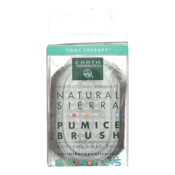 Earth Therapeutics Natural Sierra Pumice Brush - 1 Brush %count(alt)