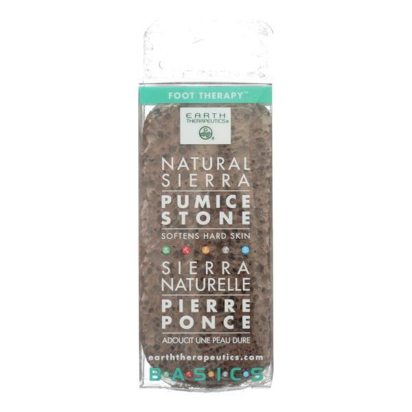 Earth Therapeutics Natural Sierra Pumice Stone - 1 Pumice Stone %count(alt)