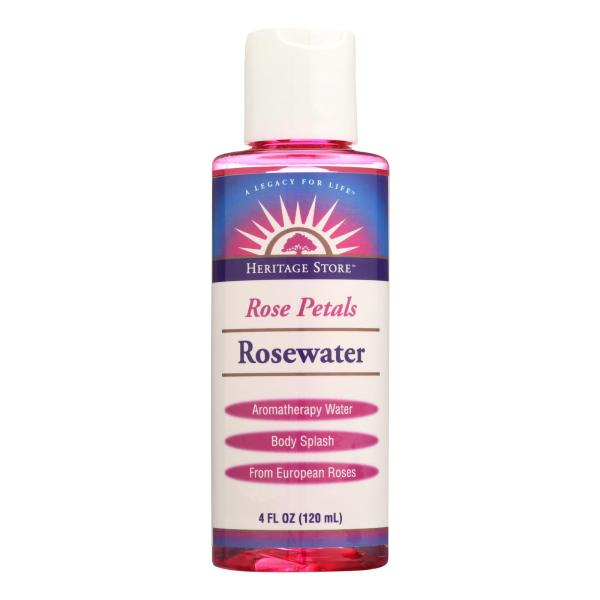 Heritage Products Rose Petals Rosewater - 4 fl oz %count(alt)