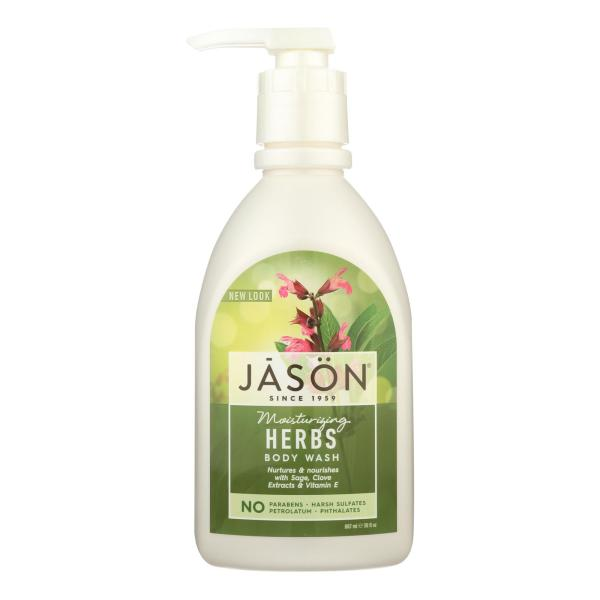 Jason Pure Natural Body Wash Moisturizing Herbs - 30 fl oz %count(alt)
