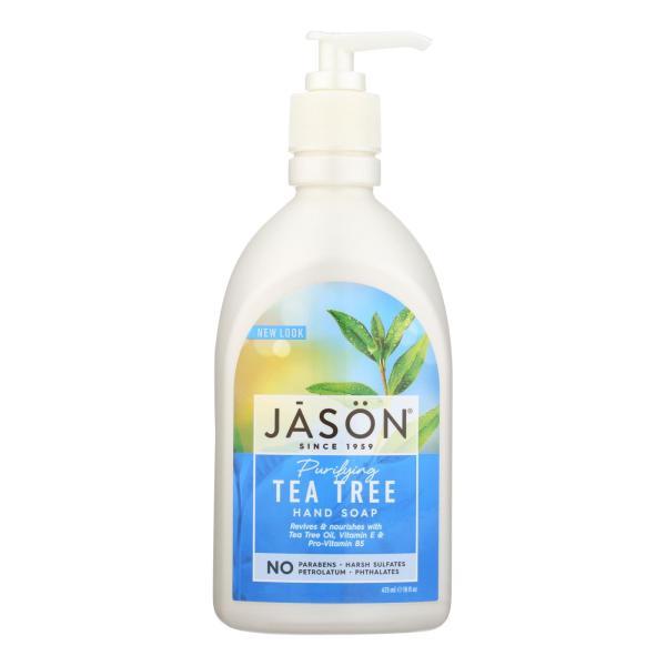 Jason Pure Natural Purifying Tea Tree Hand Soap - 16 fl oz %count(alt)