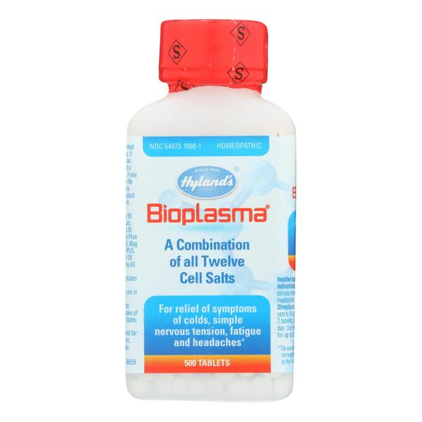 Hylands Homeopathic Bioplasma Cell Salts - 500 Tablets %count(alt)