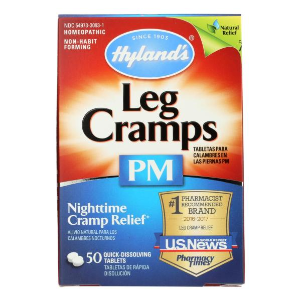 Hyland's Leg Cramps PM - 50 Tablets %count(alt)
