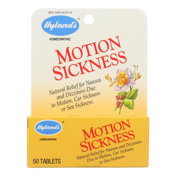 Hyland's Motion Sickness - 50 Tablets %count(alt)