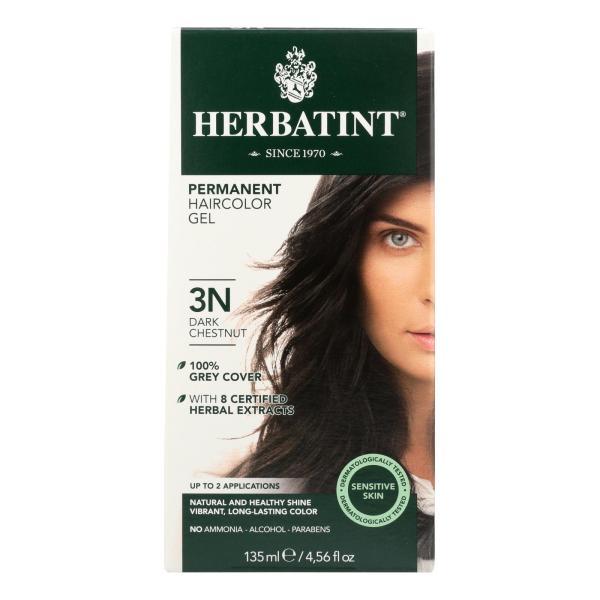 Herbatint Permanent Herbal Haircolour Gel 3N Dark Chestnut - 135 ml %count(alt)